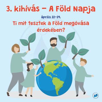 3. kihívás – A Föld Napja